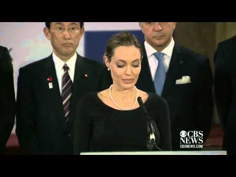 Angelina Jolie speaks out against sexual violence