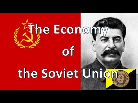 Patron Request: The Economy of the Soviet Union