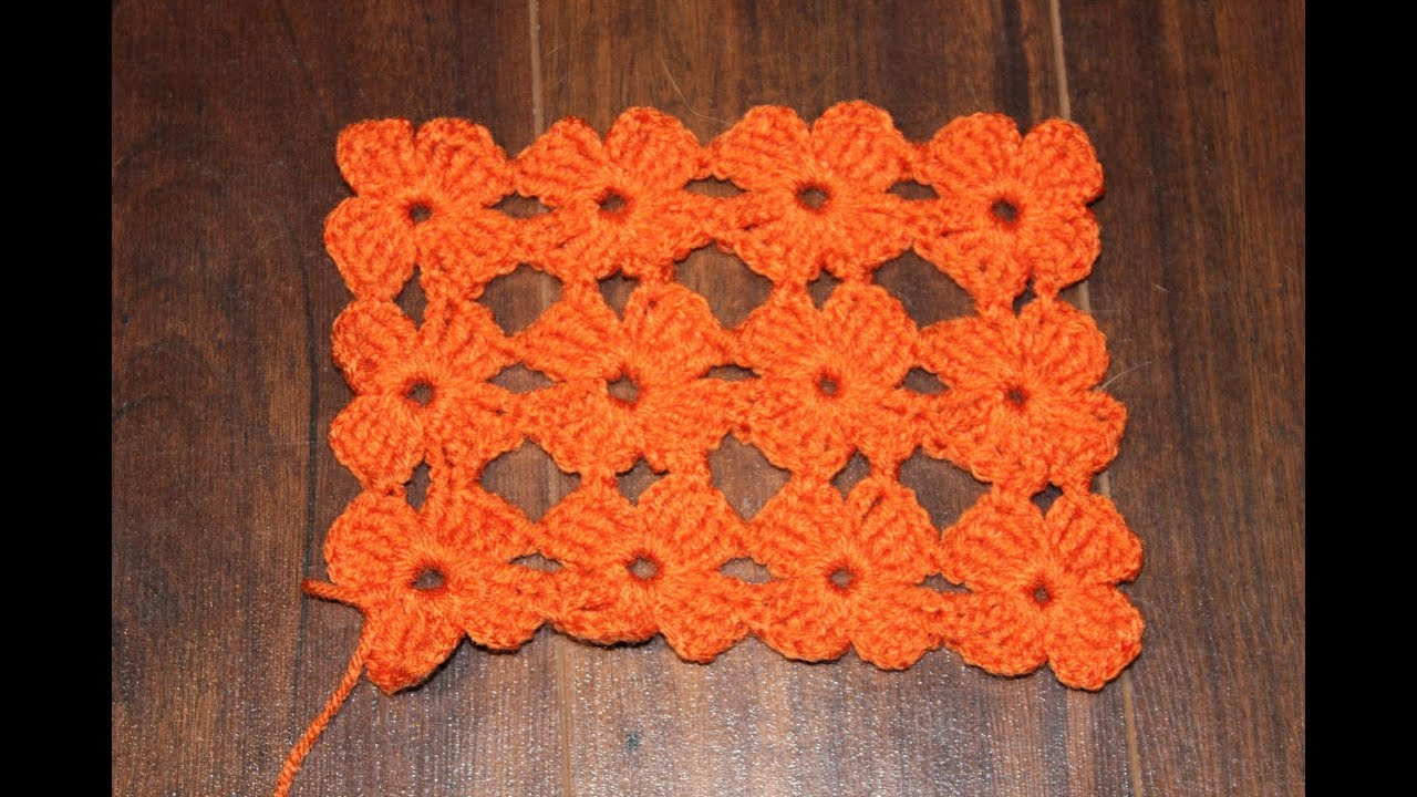 How to crochet the daisy stitch better version tutorial youtube bankloansurffo Image collections