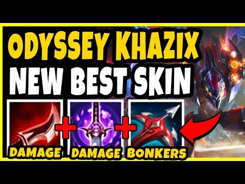 ODYSSEY KHAZIX IS THE NEW OP SKIN! BEYOND BROKEN JUNGLER S10! - League of Legends