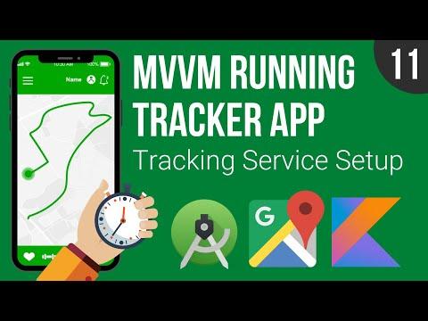 Tracking Service Basic Setup - MVVM Running Tracker App - Part 11