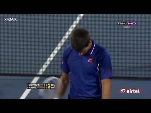 Rafael Nadal hits Novak Djokovic in his face | Surprise Madafaka