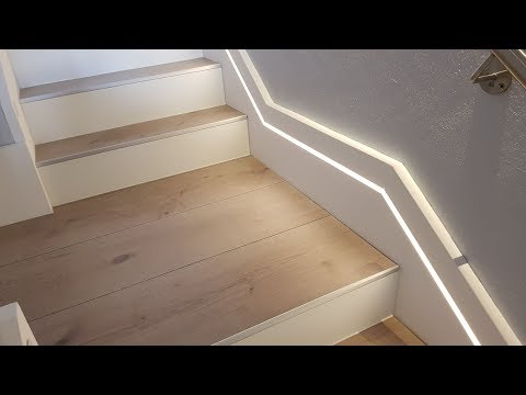 DIY - Digital LED Stair Lighting - Arduino APA102 LED