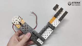 STEMBot lv1 lesson 7 - Top Spinner Build Instruction