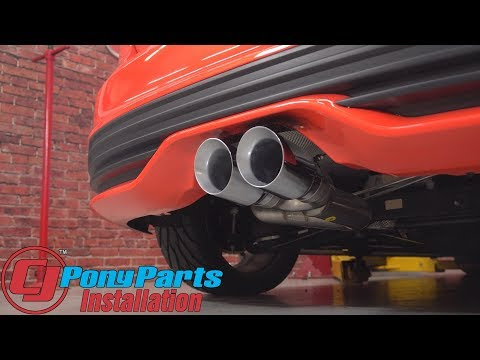 """Focus ST AWE Cat-Back Exhaust System Track Edition SS 3"""" w/Chrome Silver Tips 2013-2017 Installation"""