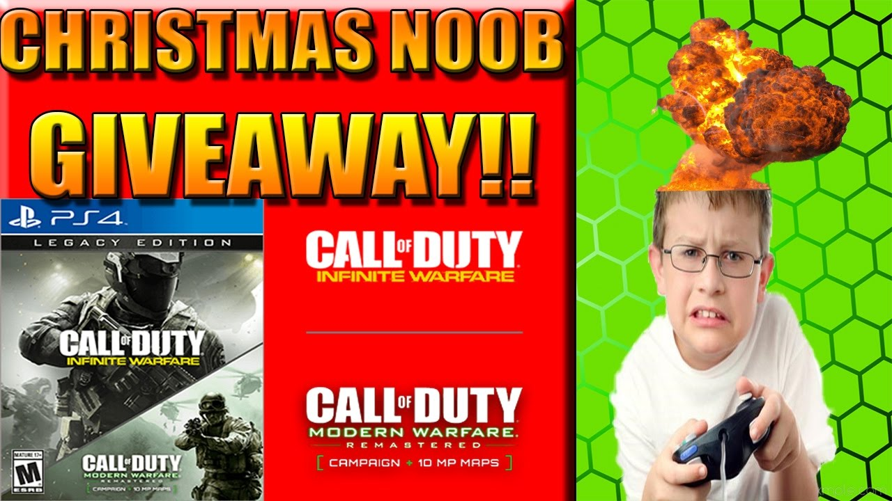 INFINITE WARFARE LEGACY EDITION GIVEAWAY! JUST IN TIME FOR CHRISTMAS ...