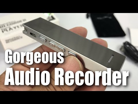 Beautiful 8GB Digital Audio Voice Recorder by KAYOWINE Review