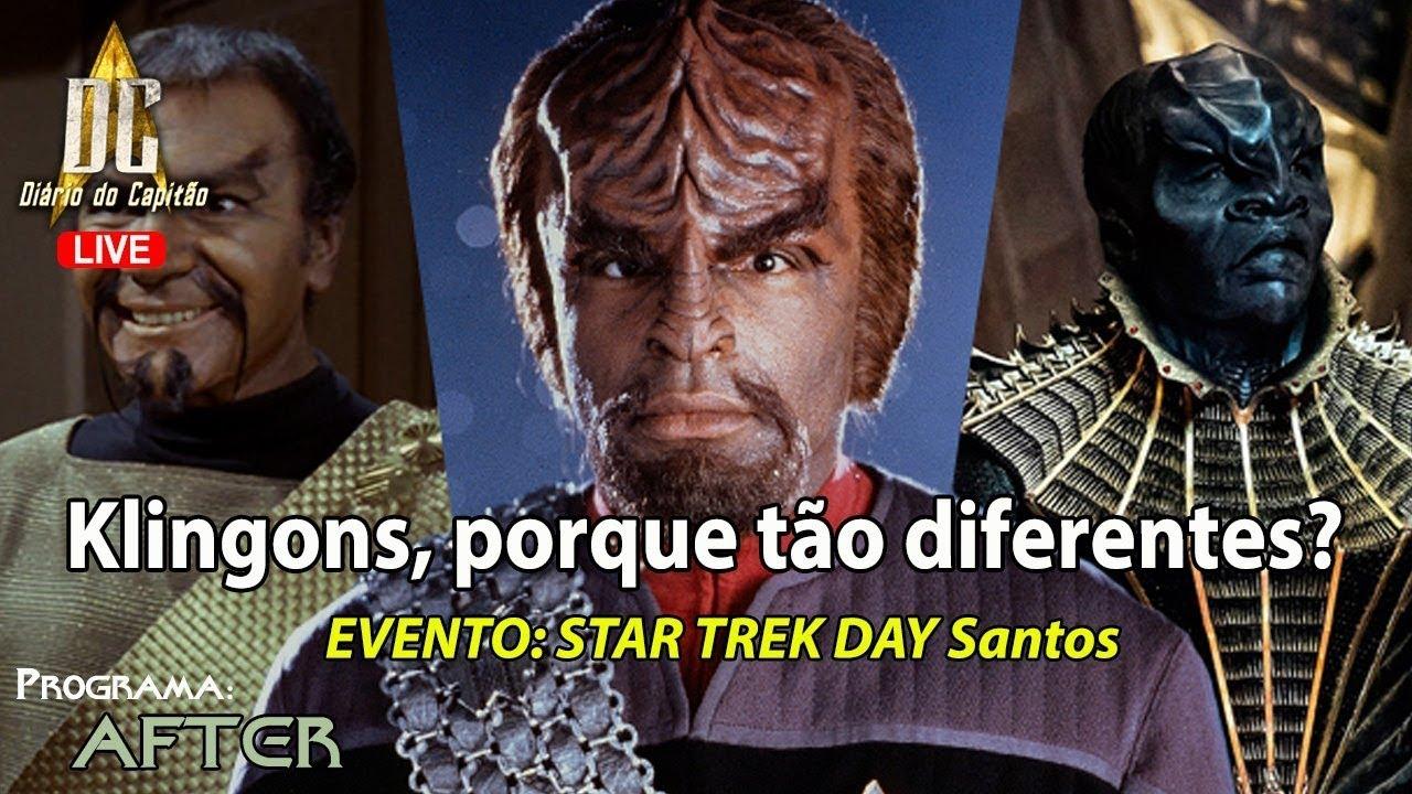 Klingons, por que tão diferentes? - AFTER EP09