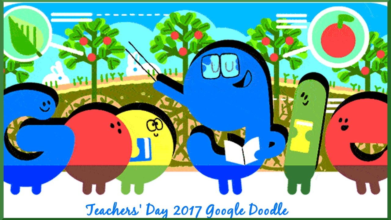 Google doodle offers a thank-you to teachers