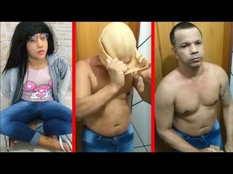 Kristina - Brazil Prisoner Disguises Himself as His Teenage Daughter in Escape Attempt