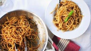 Sundried Tomato & Toasted Walnut Pasta