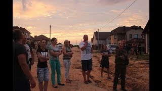 Жители улицы Сосновой в Слониме требуют ремонта дороги