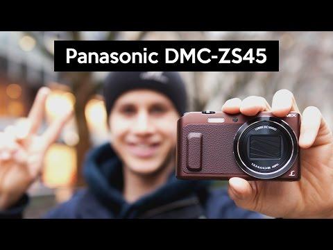 Panasonic DMC-ZS45 | DMC-TZ57 | cheap VLOGGING camera with a flip screen