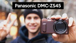 видео тест Panasonic lumix tz-57