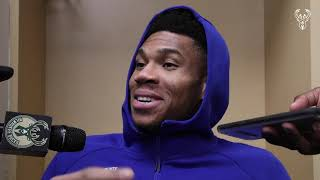 If We Weren't Having Fun, We Wouldn't Be Winning! Giannis Postgame Press Conference | 12.13.19