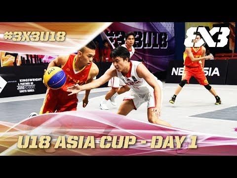 FIBA 3x3 - U18 Asia Cup 2017 - Pool Phase - Re-Live - Day 1 - Cyberjaya, Malaysia