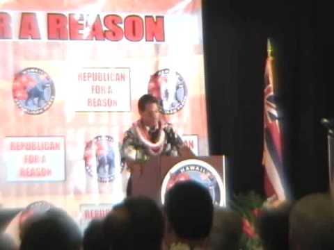 2009 Hawaii Republican State Convention Part 1 of 2