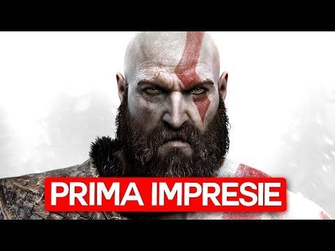 GOD OF WAR 2018 - Prima Impresie - 3 Ore (LIVE)