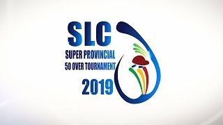 The Launch of the Super Provincial 50 over Tournament 2019