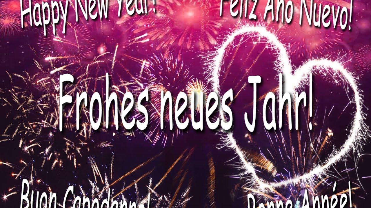 Neujahrsgrüße: Frohes neues Jahr 2018! - YouTube