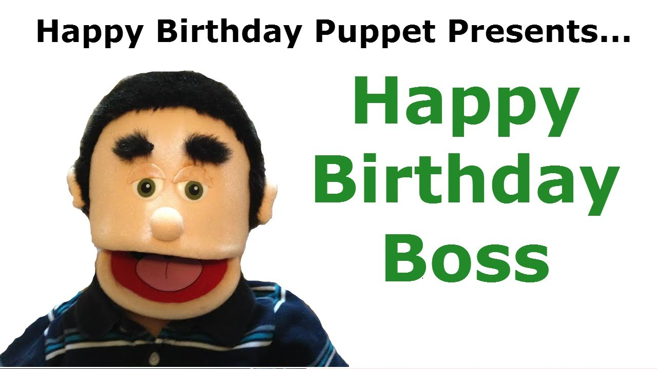 Happy Birthday Boss Birthday Song YouTube – Funny Birthday Cards for Your Boss