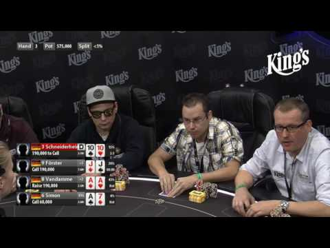 German Nine - Final Table der Deutschen Bracelet Meisterschaft 2016