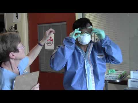 RVHS Ebola Preparedness: Donning Your PPE