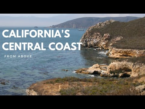Explore California's Central Coast from above - San Luis Obispo county