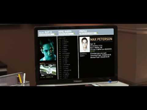 Sandra De Sousa in The Echelon Conspiracy clip 1