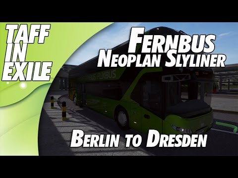 Fernbus Simulator | Neoplan Skyliner | Berlin to Dresden