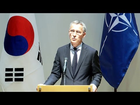 NATO Secretary General at ASAN Institute for Policy Studies, Seoul, 2 NOV 2017, Part 2/2