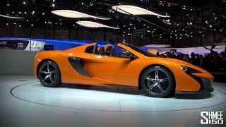 WORLD PREMIERE: McLaren 650S Spider at Geneva 2014