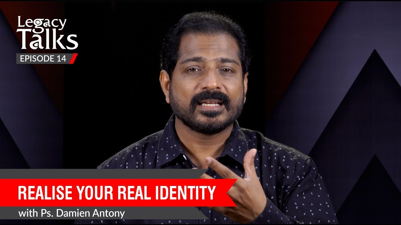 Download Realise Your Real Identity | Ps. Damien Antony | Blessing Today Legacy Talks - 14
