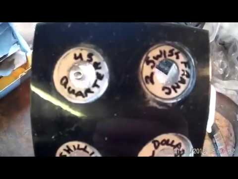 Coin Ring Hole Punch Template