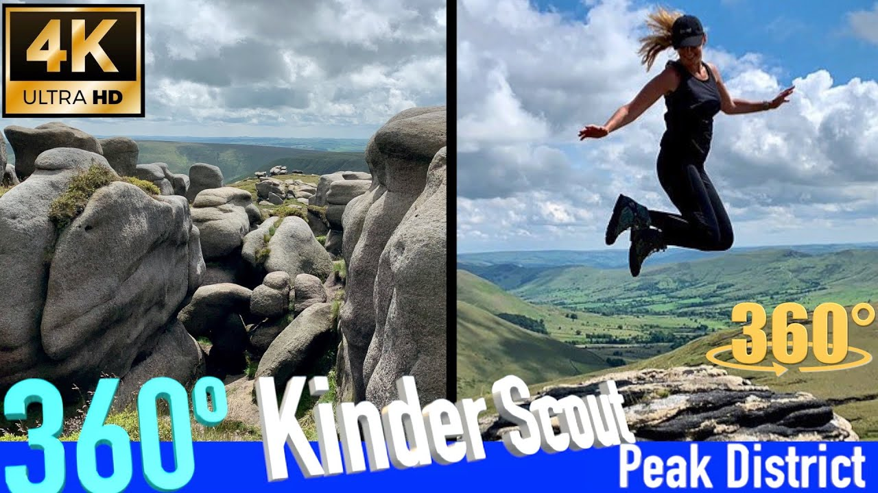 Kinder Scout: 360 Experience of the Highest in the Peak District