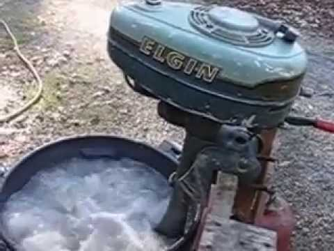 1954 Elgin By West Bend 2 Hp Aircooled 1 Cylinder Outboard