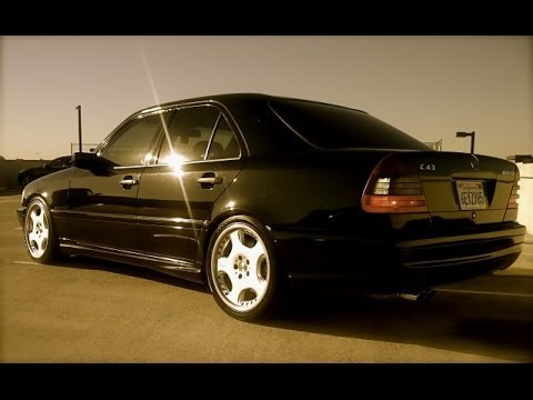 loud mercedes benz c43 amg w202 exhaust sound. Black Bedroom Furniture Sets. Home Design Ideas