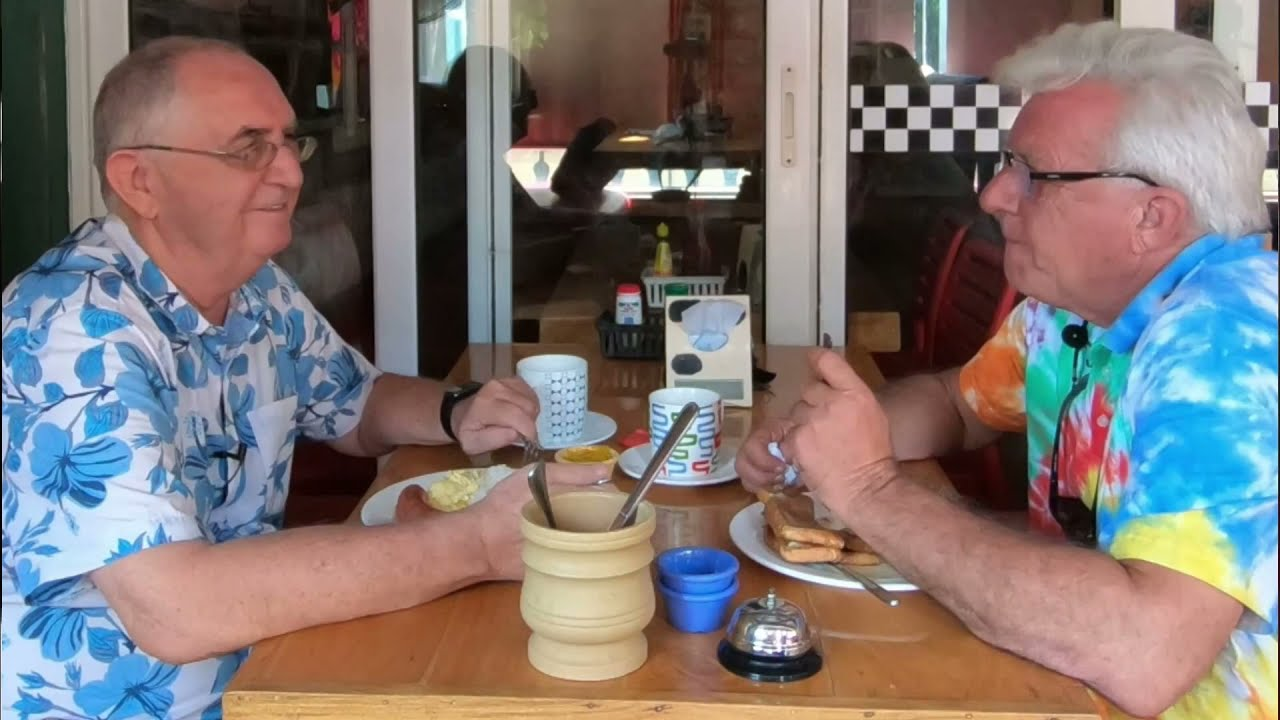 Expats in the Philippines having coffee  Part 2 of 2 - Bud Brown. - Retired in the Philippines.