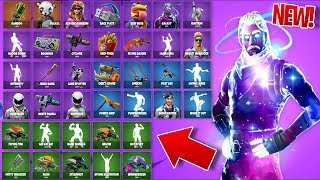 'ALL NEW' LEAKED Skins/Items in Fortnite: Battle Royale! - EPIC 'Galaxy' SKIN - PLUS! (Fortnite)