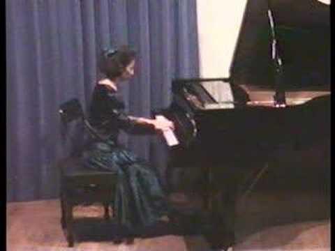 Brahms Intermezzo op. 118 n. 2: Leticia Gómez-Tagle