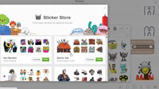 How to Download New Sticker Packs in Faebook Messenger (No Narration)