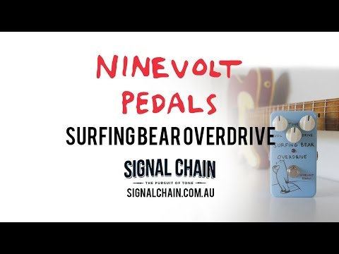 Ninevolt Pedals: SURFING BEAR OVERDRIVE
