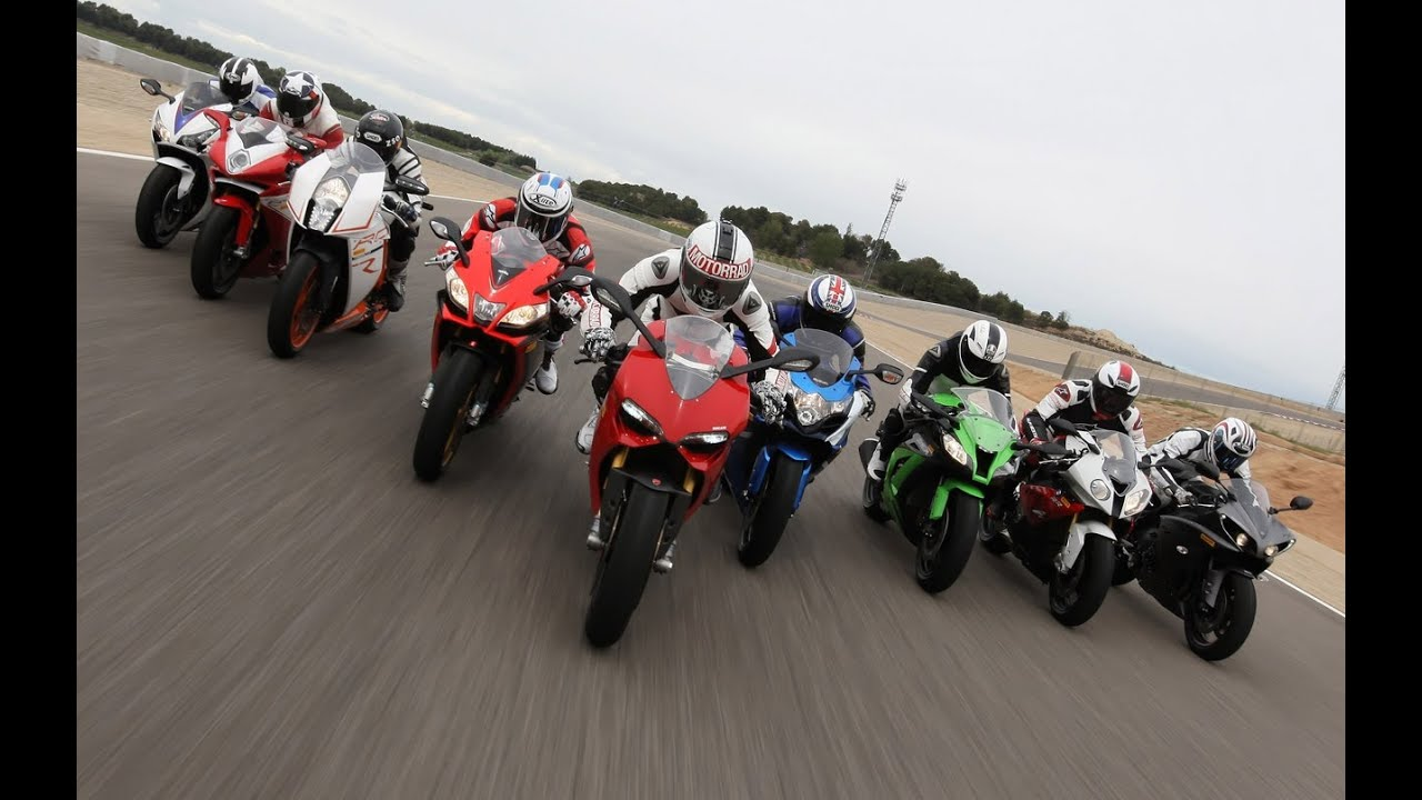 1000cc Bikes Superbike Test  9 Supersport Bikes  YouTube