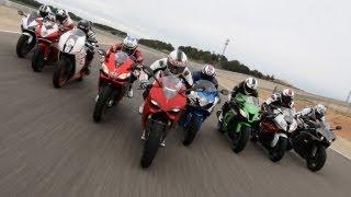 1000cc Bikes Superbike Test | 9 Supersport Bikes