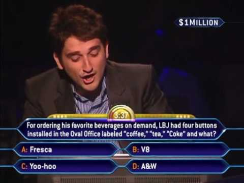 Million Dollar Question WRONG! - Who Wants To Be A Millionaire