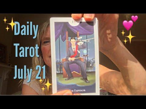 Daily tarot reading July 21, 2017 🙏✨ All Zodiac Signs ✨🙏
