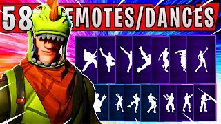 *UPDATED* REX (Dinosaur) Skin with 58 Dances and Emotes | Fortnite Battle Royale Season 4