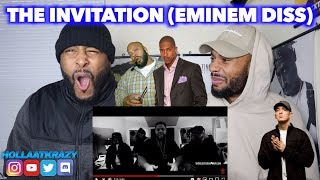 THE INVITATION (EMINEM DISS) - NICK CANNON & FRIENDS ft SUGE KNIGHT| NOT BAD BUT NOT GOOD | REACTION