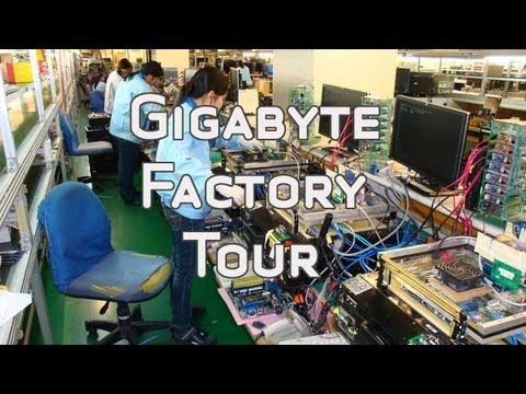 A Trip to the Gigabyte Factory