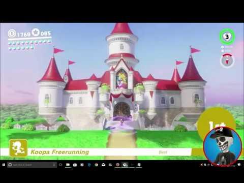 Super Mario Odyssey Guide Mushroom Kingdom Power Moon 21 Youtube